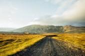 Beautiful Icelandic Landscape. Wonderful image of amazing nature landscape. Iceland Europe.