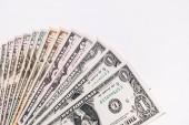 Peníze peníze, eura a americké dolary měna