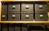 Kroužkové bloky, soubor archivu úřad Polička.