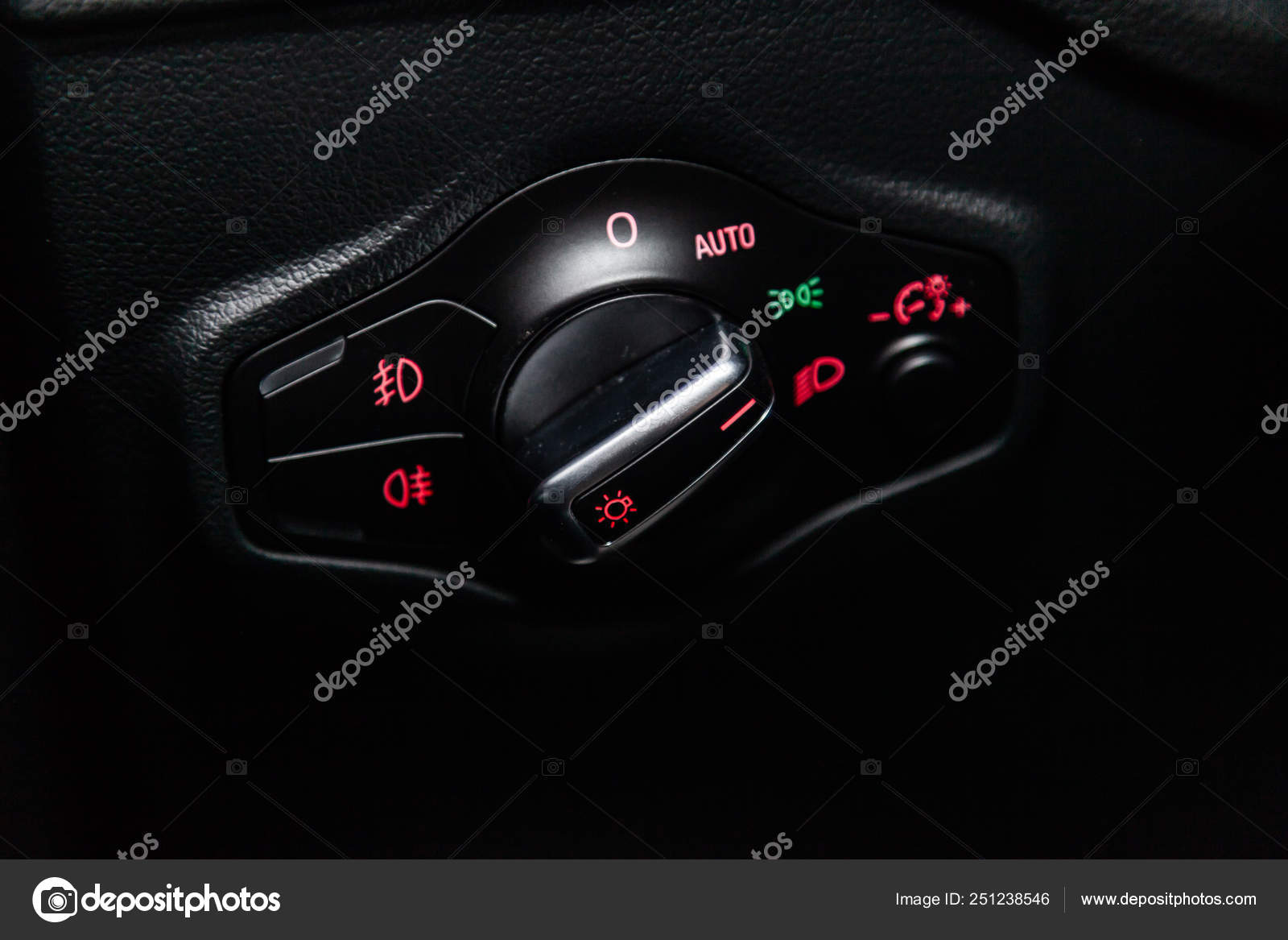 Novosibirsk Russia March 2019 Audi Close Headlight Adjustment