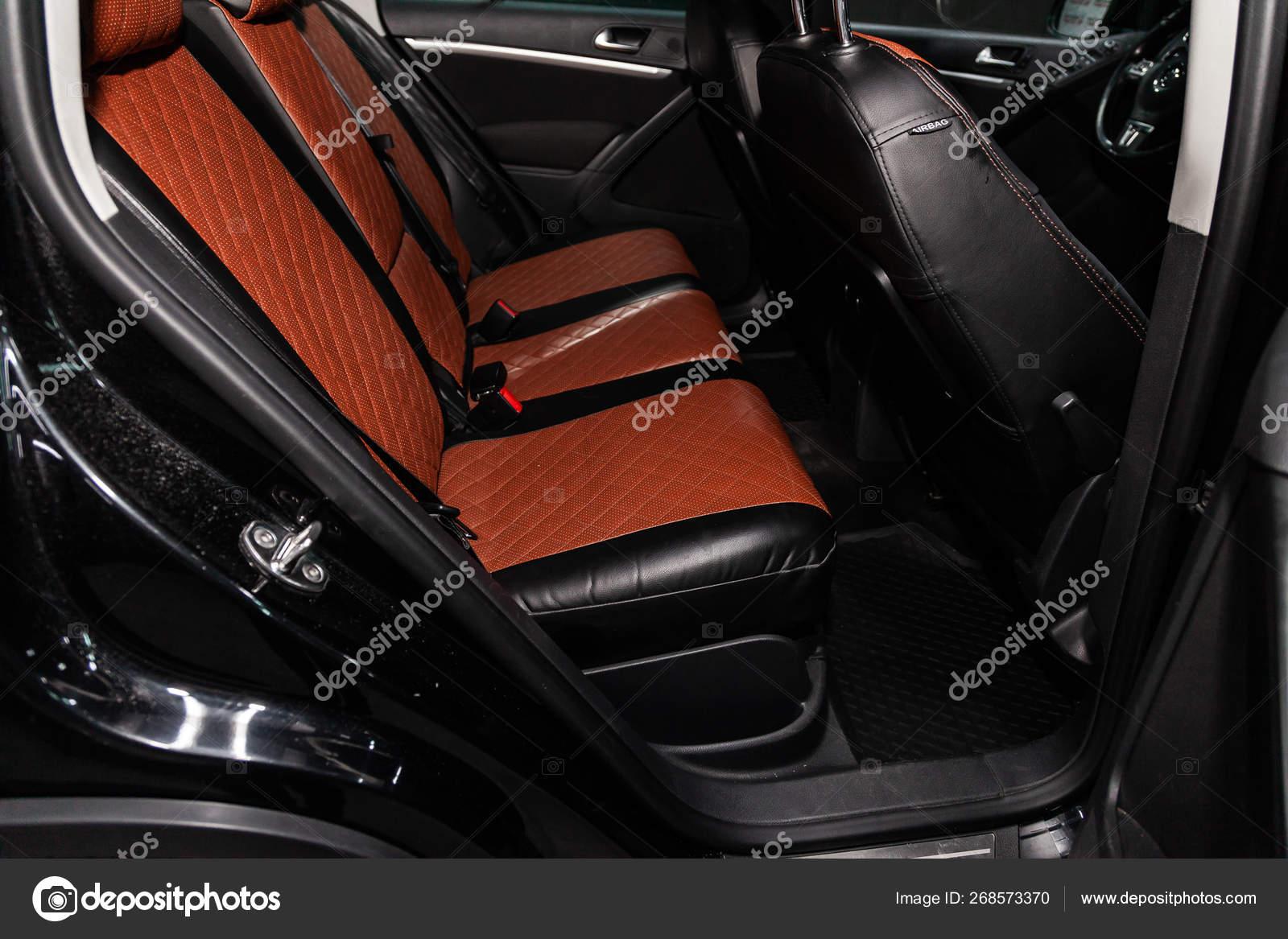 Fantastic Novosibirsk Russia May 2019 Volkswagen Tiguan Close Brown Creativecarmelina Interior Chair Design Creativecarmelinacom
