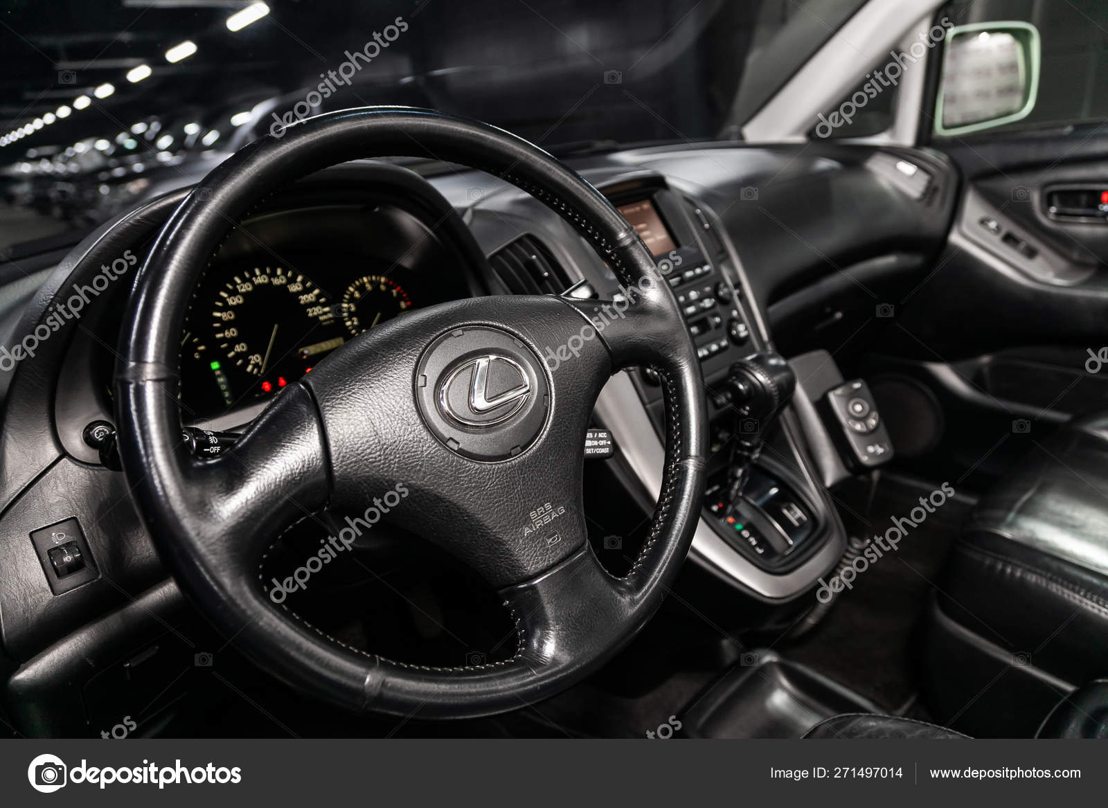 Novosibirsk Russia May 2019 Lexus 300 Close Dashboard Speedometer Tachometer Stock Editorial Photo C Everyonensk 271497014