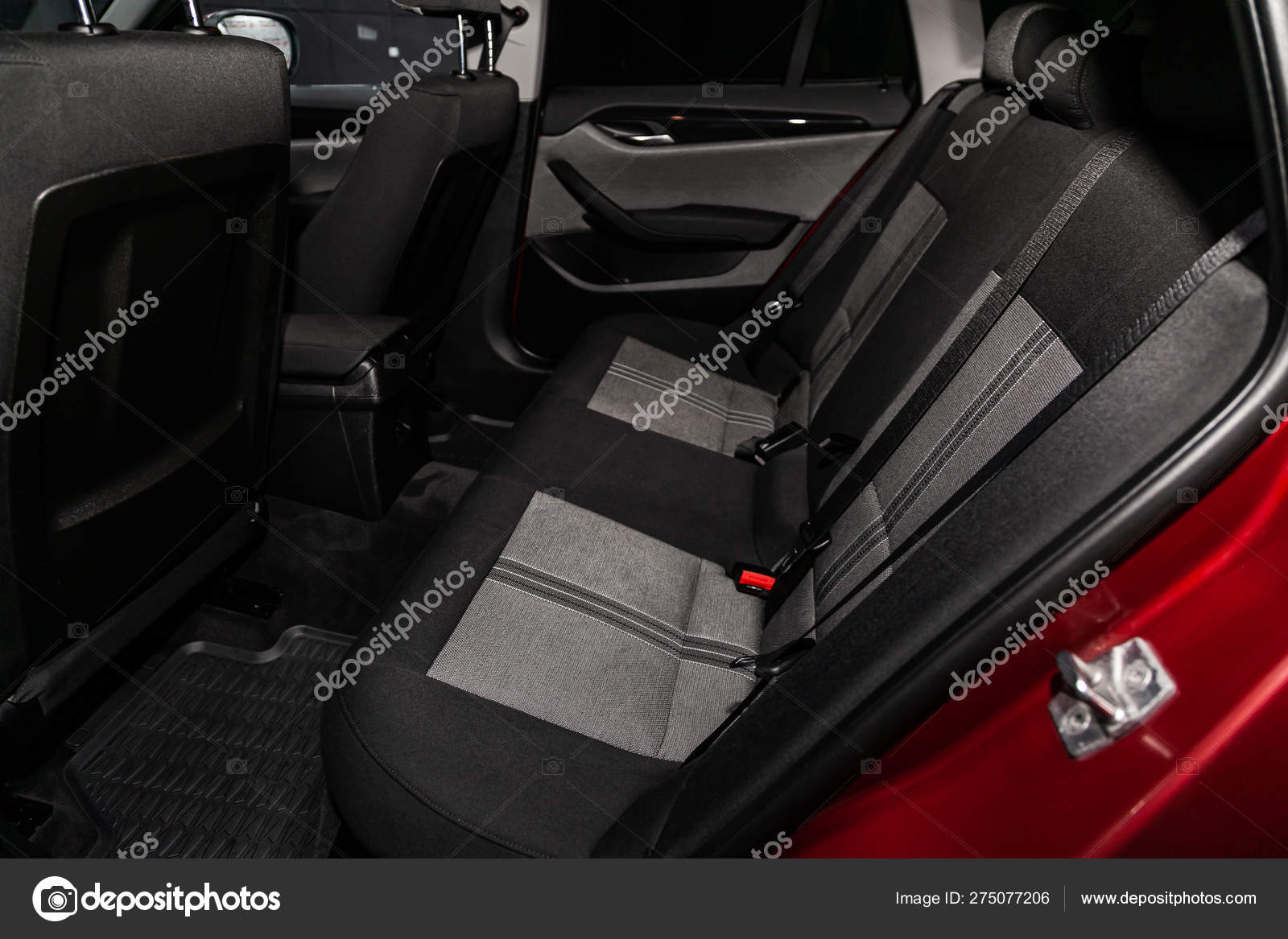 Novosibirsk Russia June 2019 Bmw Close Black Rear Seats Seats Stock Editorial Photo C Everyonensk 275077206