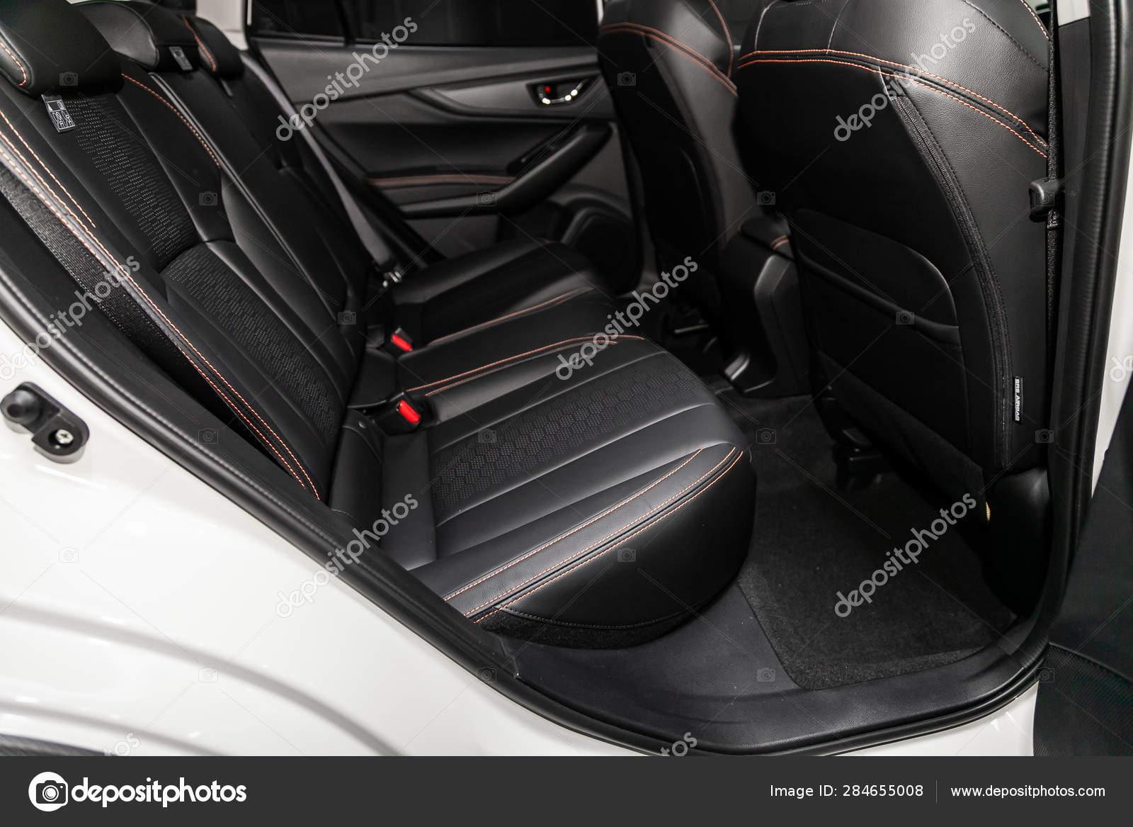 Peachy Novosibirsk Russia June 2019 Subaru Close Black Rear Seats Ibusinesslaw Wood Chair Design Ideas Ibusinesslaworg