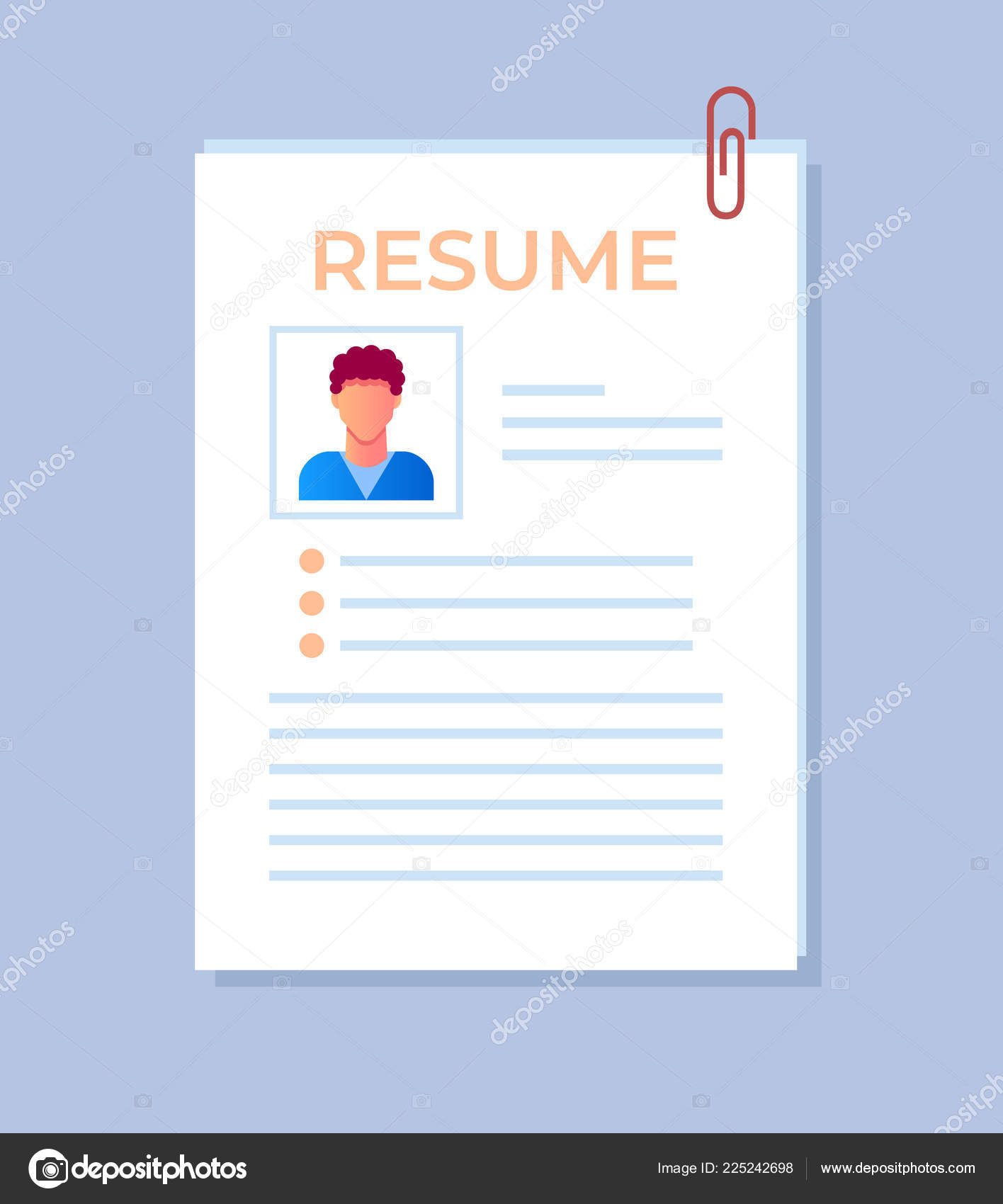 personal data in resume