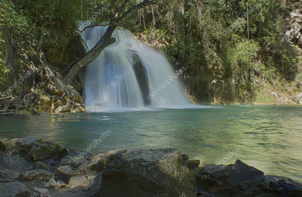 Waterfalls of Llano Grande,Huatulco ,Oaxaca Mexico