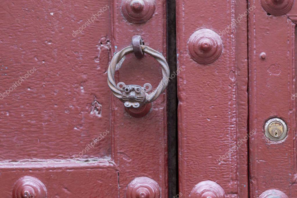 Door knockers, Cusco, Peru