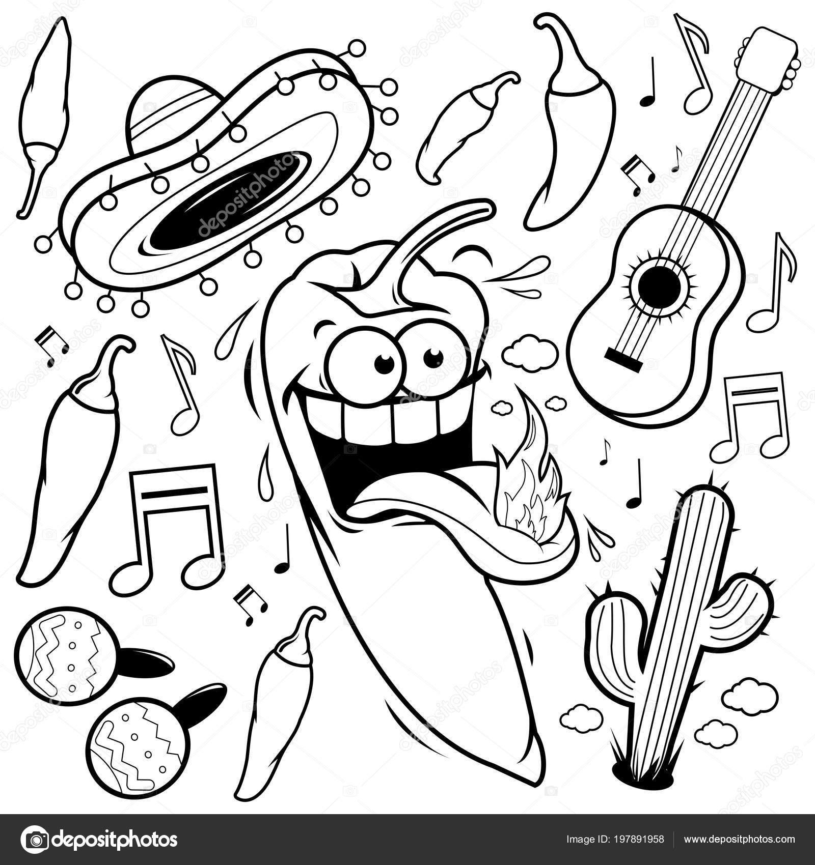 Imágenes Chile Mexicano Para Dibujar Mariachi Chile