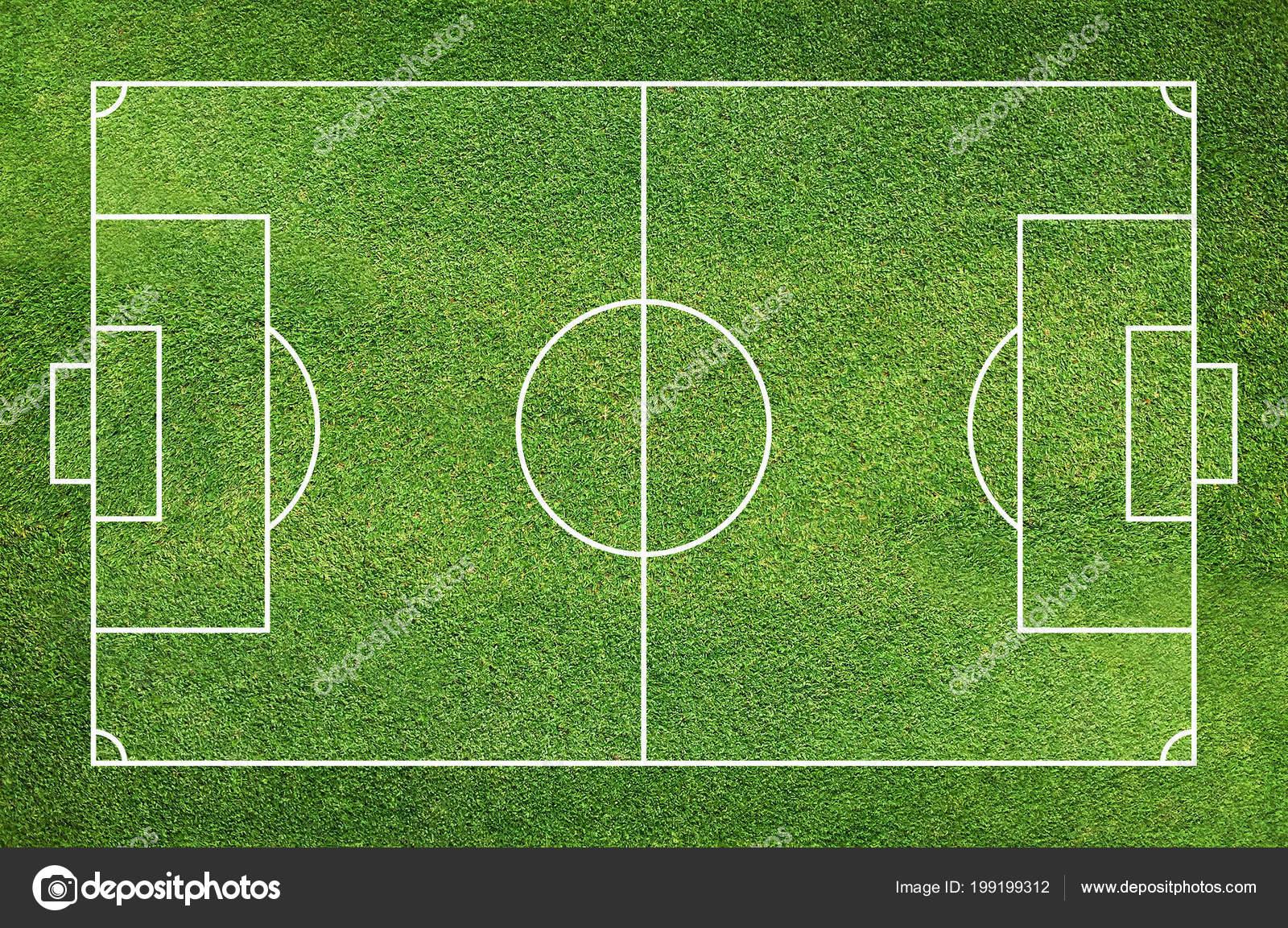 Campo de fútbol o cancha de futbol con pasto verde patrón y la textura de  fondo - fondo  pasto de futbol — Foto de praew p 1985.hotmail.com — Foto de  ... 9bc05477451a9