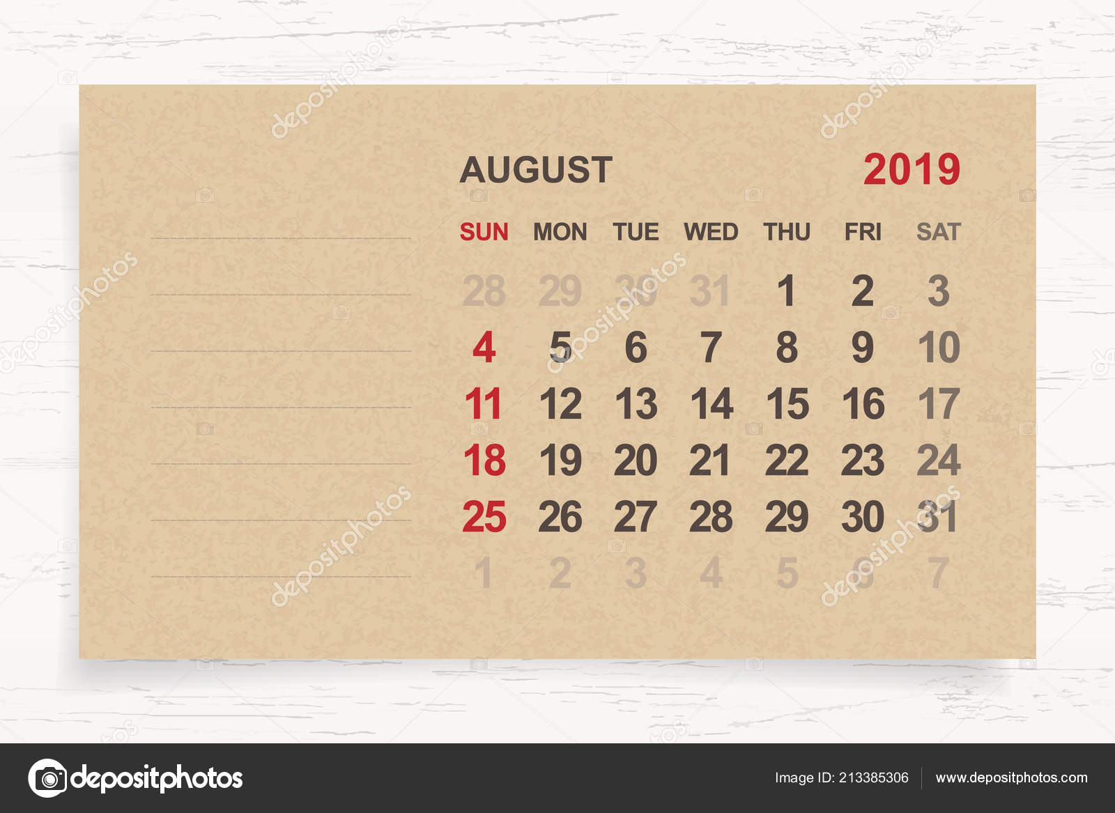 28 Ağustos 2019 Cuma