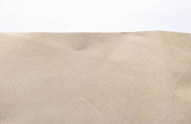 Brown paper texture. Wrinkled recycle paper for background
