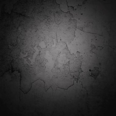 Abstract background dark vignette border frame with gray texture