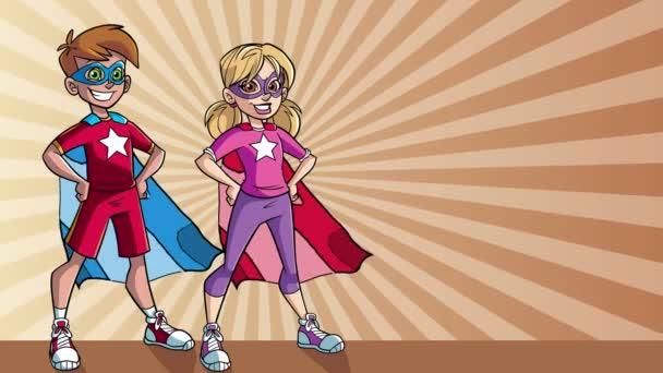 Kis Super gyerekek Ray világos háttérrel