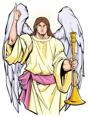 Archangel Gabriel Portrait