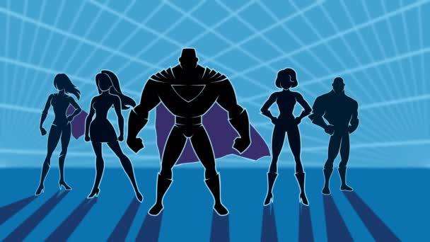 Superhrdina tým 2 animace