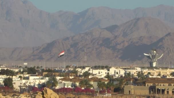 Desert mountains panorama. Egypt
