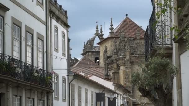 Ancient architecture and castle of Braga, Portugal