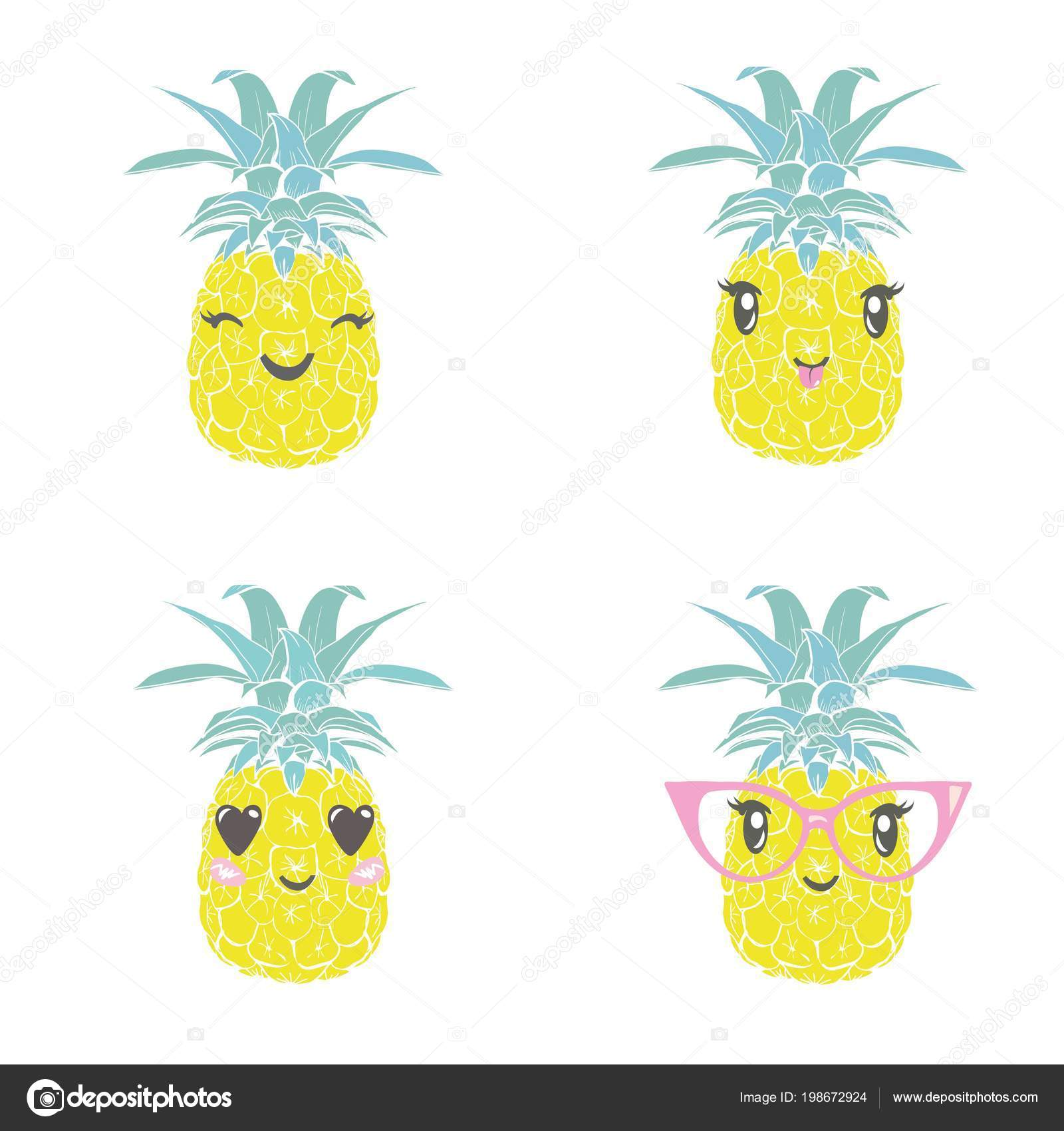 f690dbbe4f50 pineapple with glasses tropical