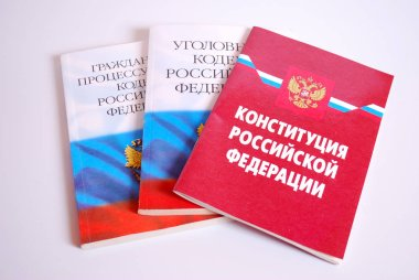 The Constitution of the Russian Federation,the criminal Code and the Civil Procedure Code