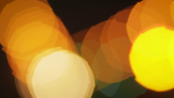 Absztrakt bokeh defocused fények, ünnepi háttér