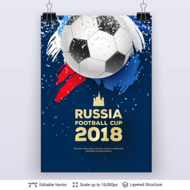FIFA World Cup 2018 Banner Concept.