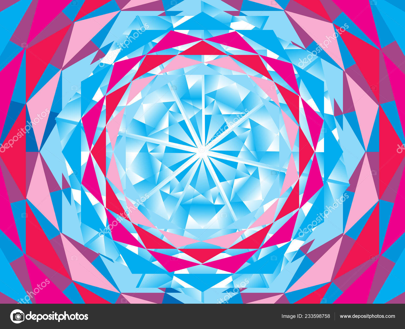 Abstract Artistic Diamond Background Vector Illustration