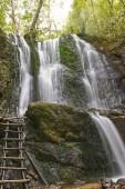 Landschaft der Koleshino-Wasserfälle im Belasica-Gebirge, novo selo, Republik Nordmakedonien