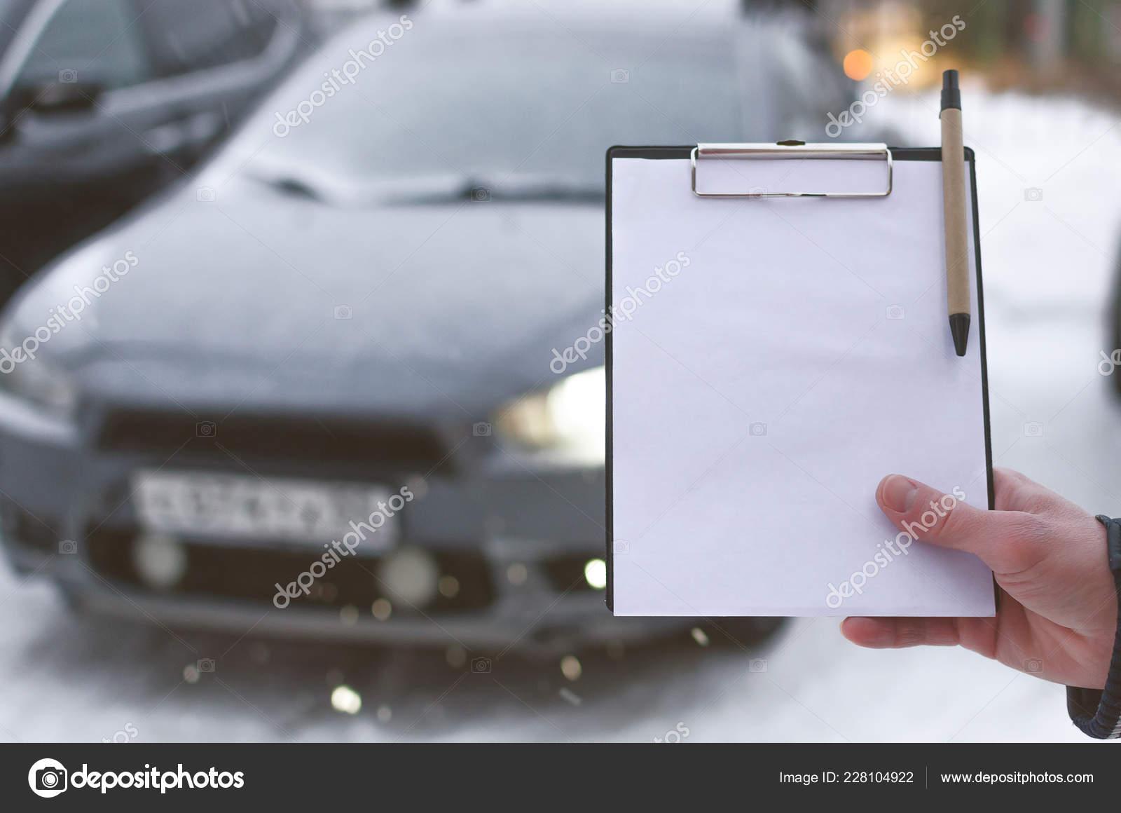 Car Repair Insurance >> Invoice Payment Car Repair Concept Car Insurance Document
