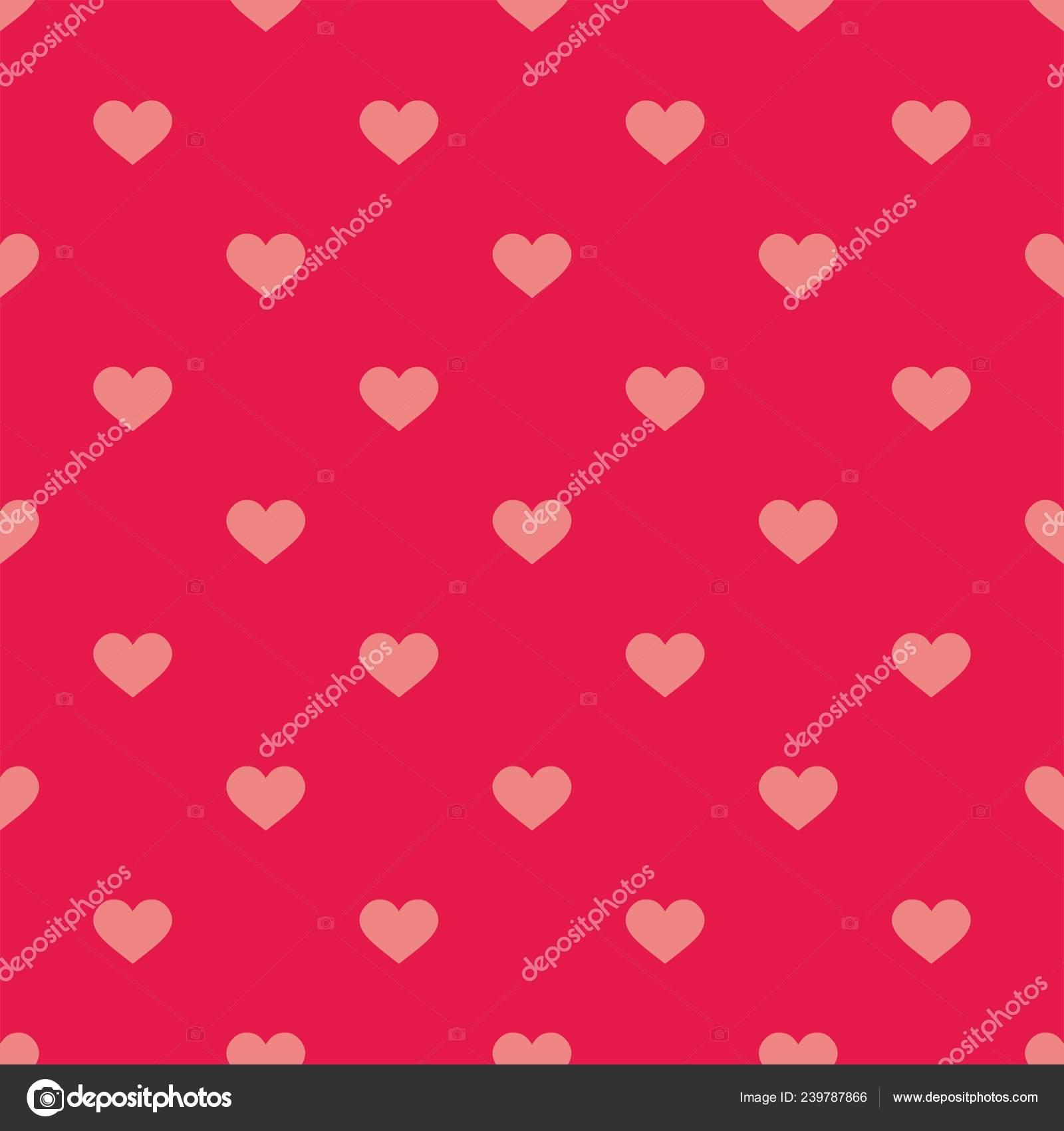 Background Desktop Cute Pink Vector Background Hearts