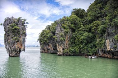Phang Nga Bay view at daytime, James Bond Island, Thailand