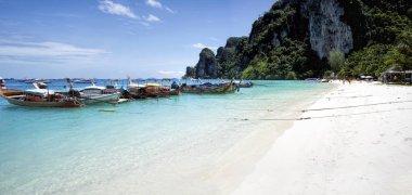 Phang Nga Bay view at daytime, James Bond Island, Thailand