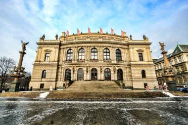 The Rudolfinum Prague, a neo-renaissance building which is home to the Czech Philharmonic Orchestra. Czech Republic