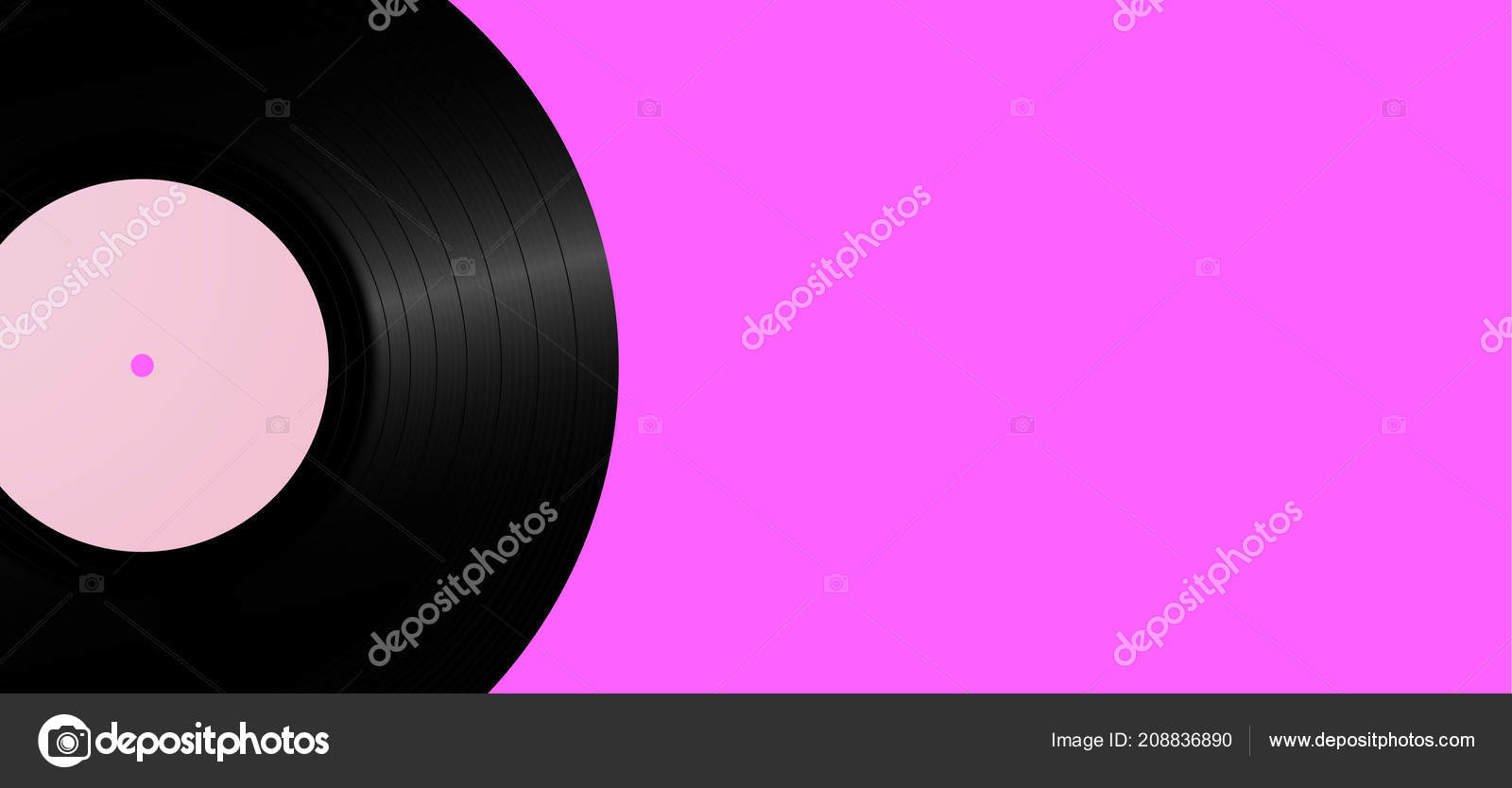 vintage vinyl record background retro music background template