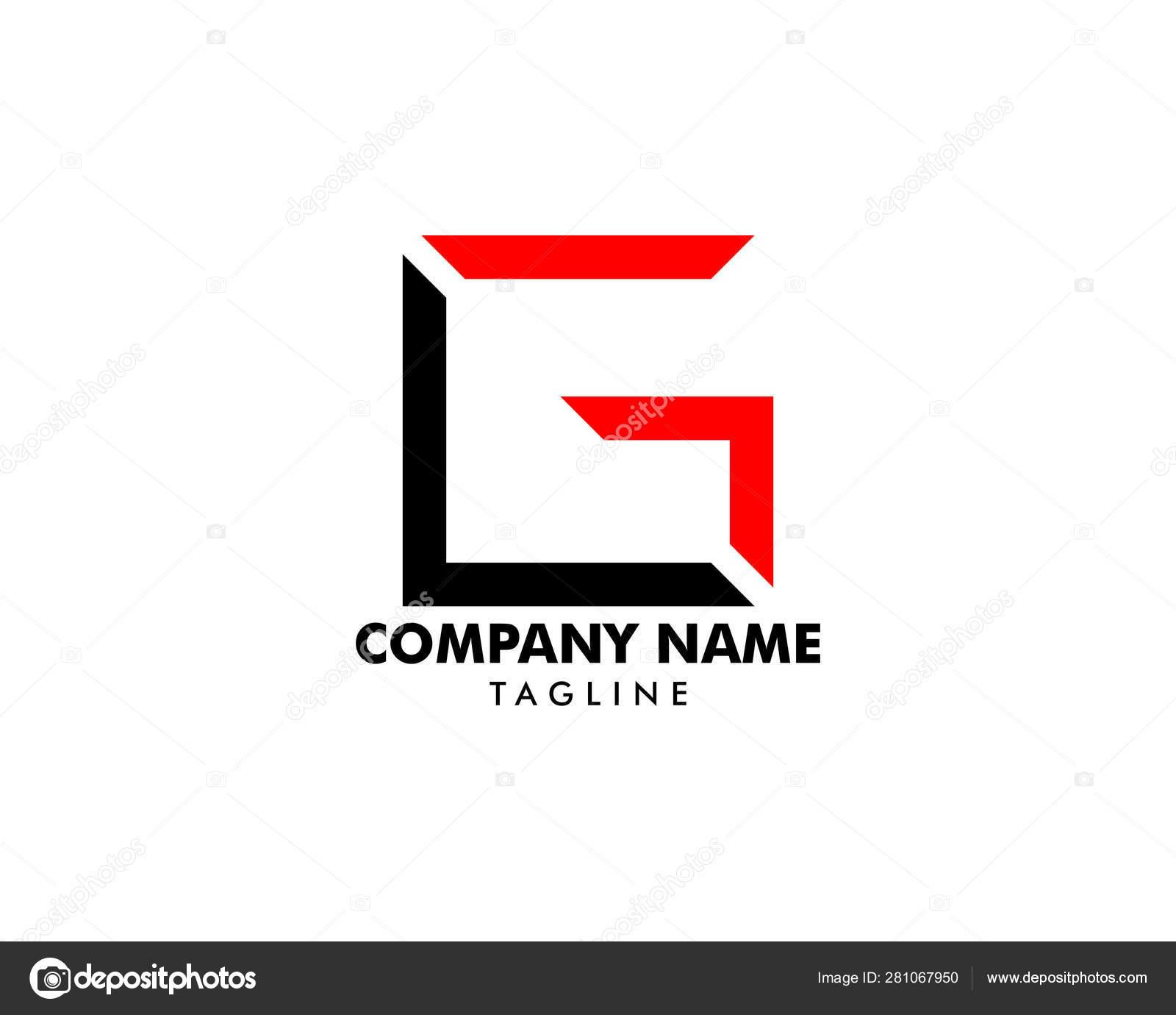 Initial Letter LG Logo Template Design — Stock Vector