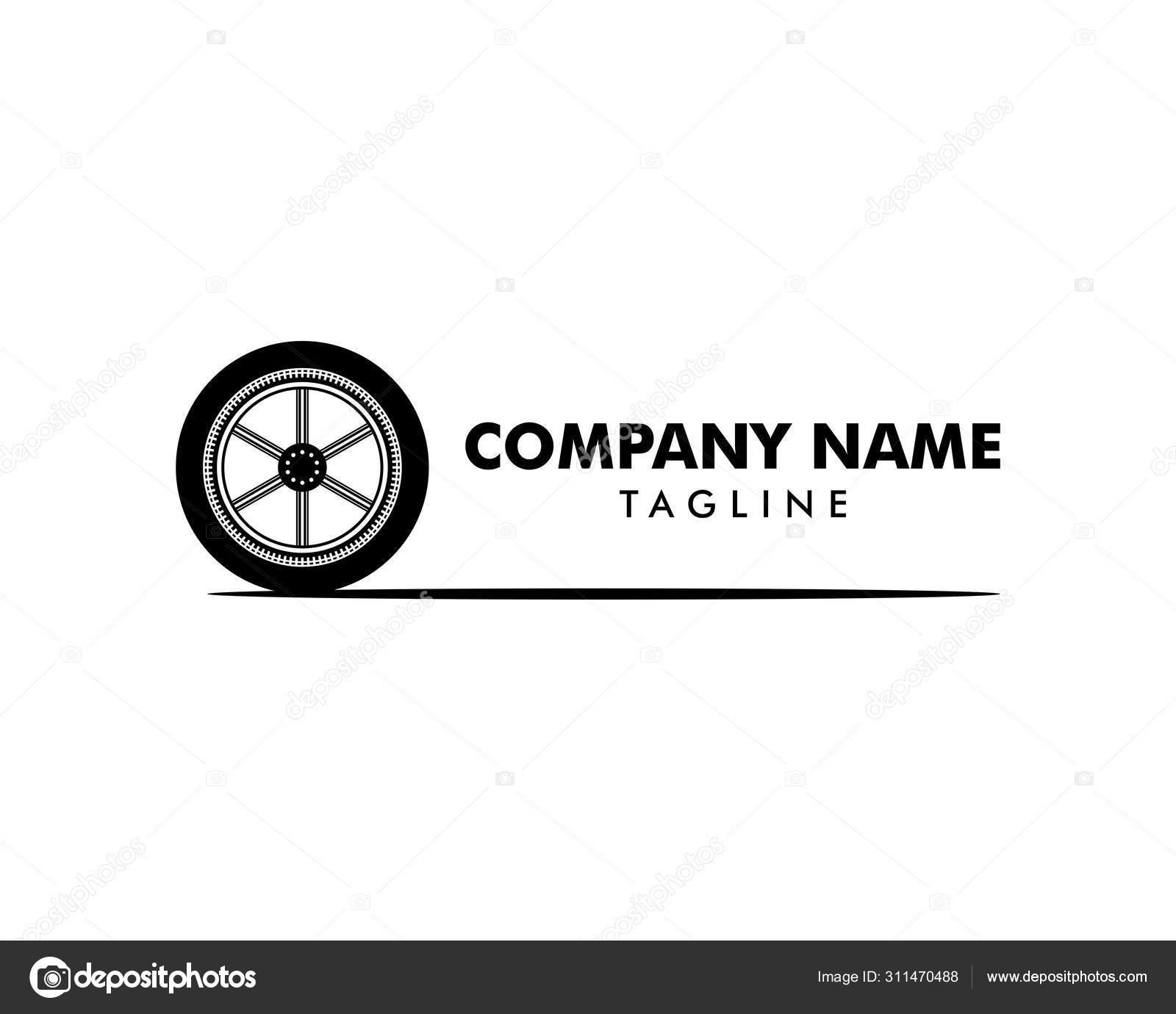 Automotive Tire Shop Logo Design Inspiracao Vector Vetores De Stock C Meisuseno Gmail Com 311470488