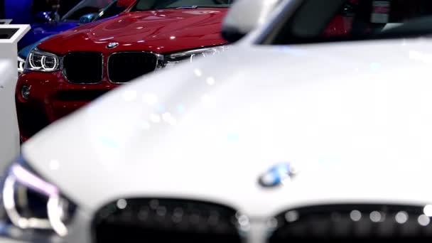 BANGKOK - MARCH 27 : BMW car on display at Bangkok International Motor Show 2018 on March 27, 2018 in Bangkok, Thailand.