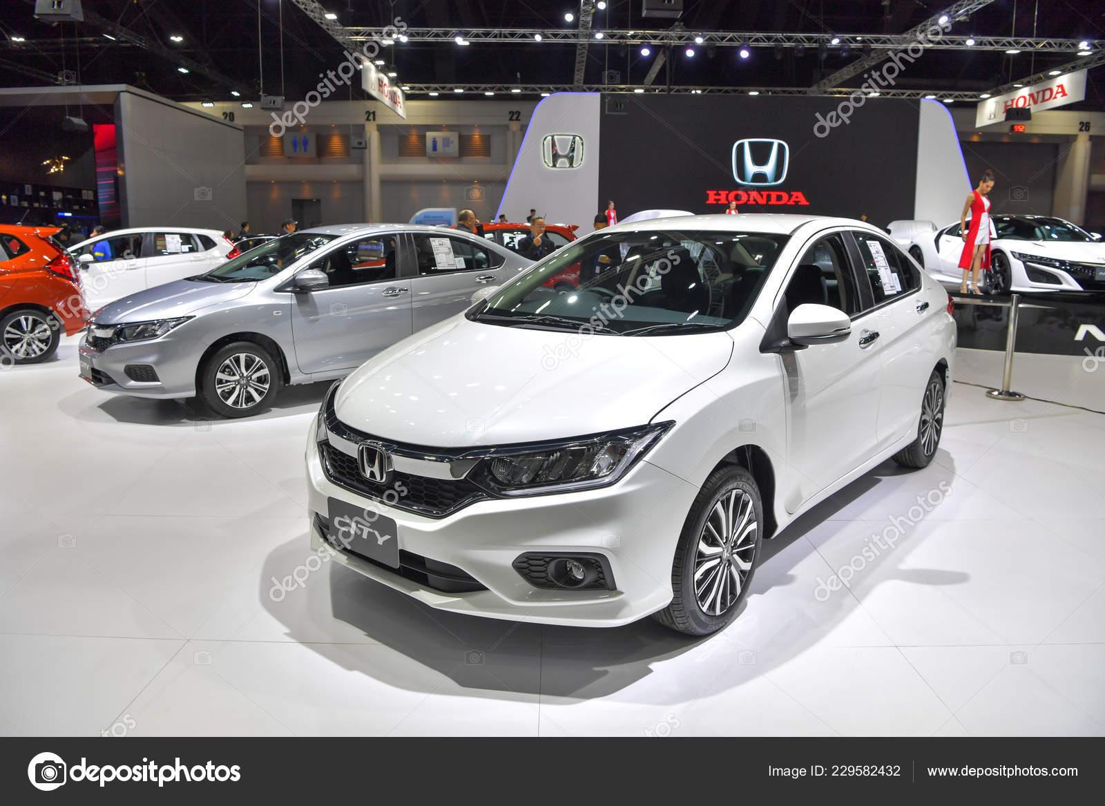 Nonthaburi November Honda City Car Display 35th Thailand