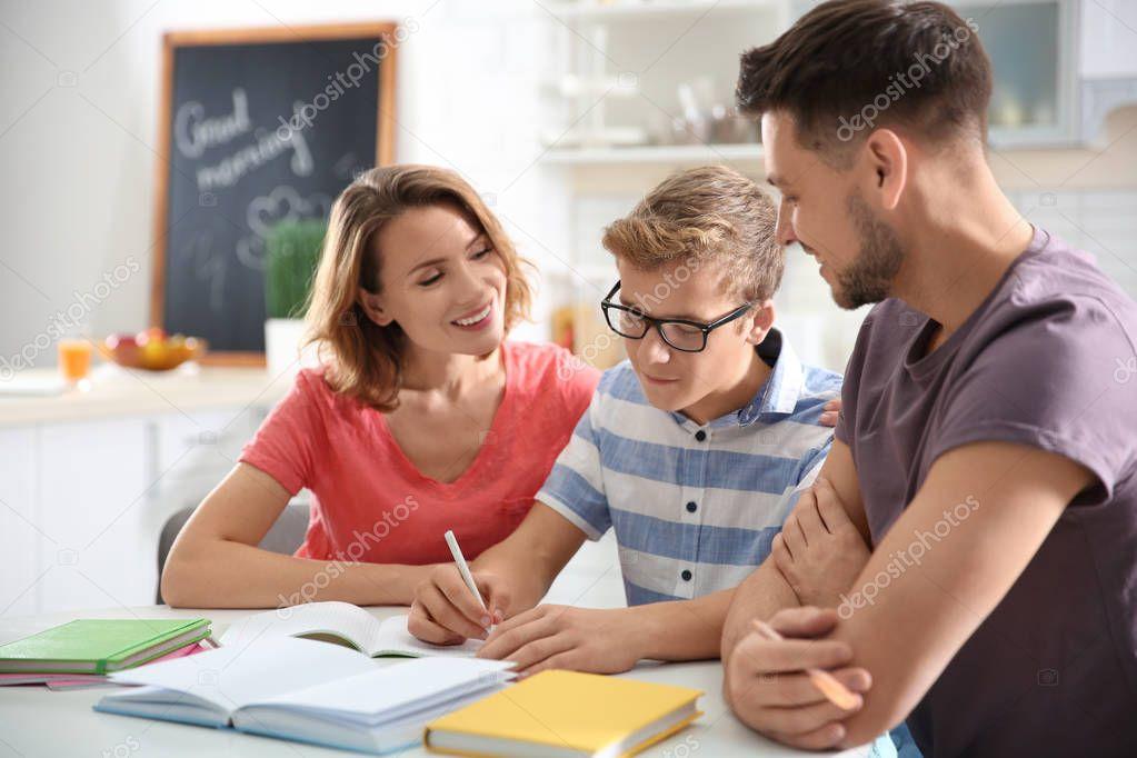 Job in parenting teen