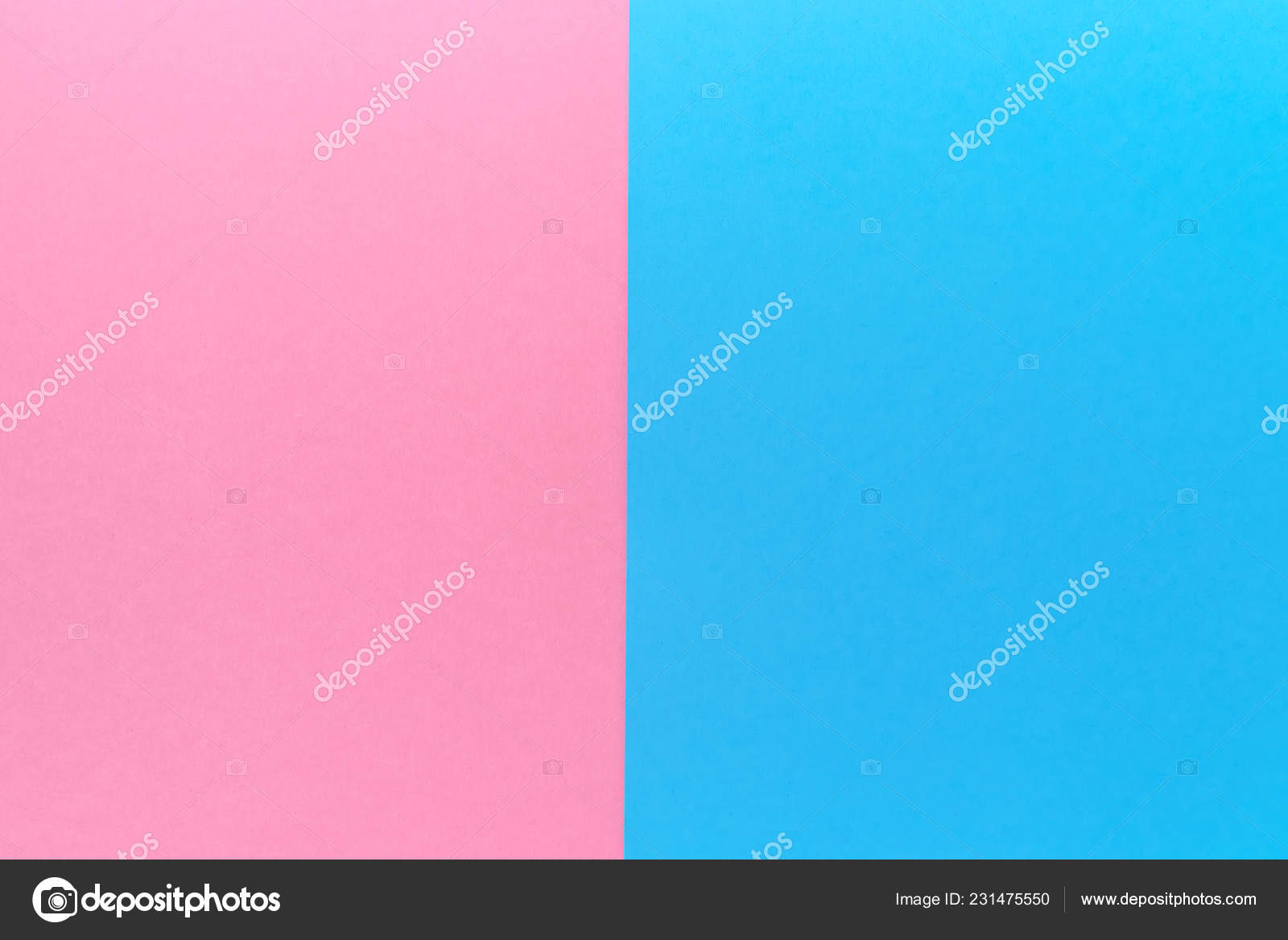 Two Tone Color Creative Blank Paper Background Two Tone Color