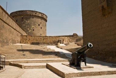 Watchtower of Saladin Citadel in Cairo, Egypt