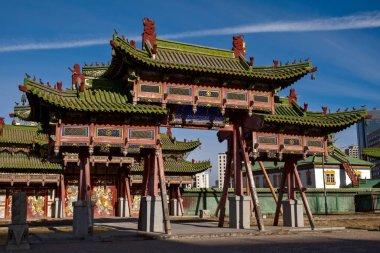Bogd Khaan palace museum in Ulaanbaatar, Mongolia