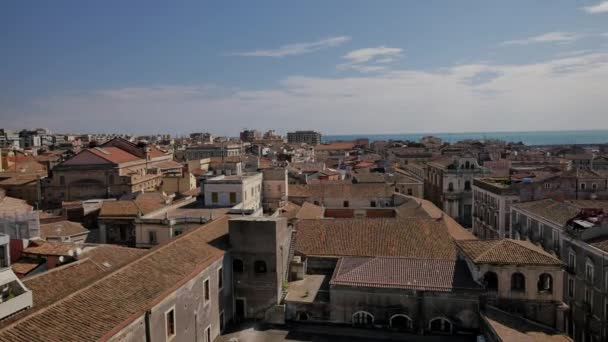 Panorama di Catania, il panorama della città. Sicilia, Italia.