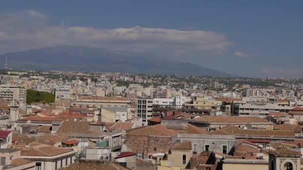 Panorama di Catania, il panorama della città. Sicilia, Italia