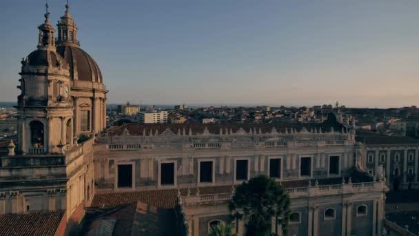 Cattedrale di SantAgata. Architettura di Sicilia, Italia.