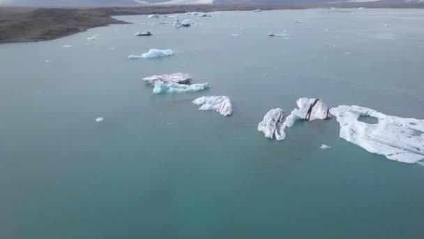 Glacier lake in Skaftafell on Iceland.