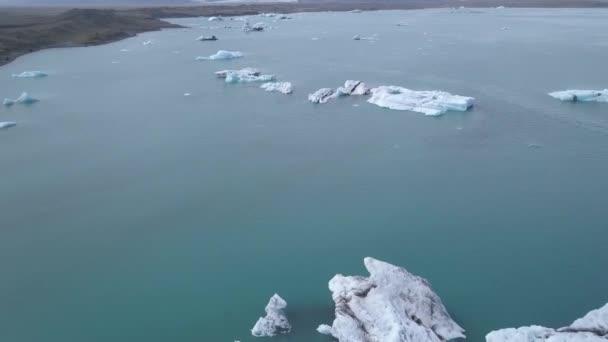 Gletschersee in Skaftafell auf Island.