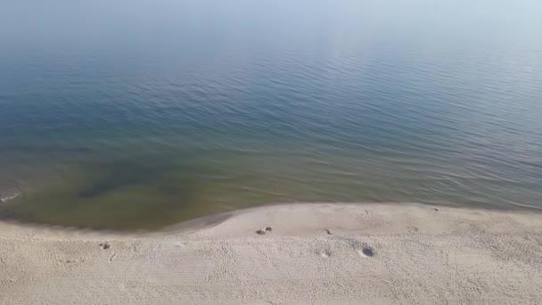 Luftaufnahme vom Strand an der Ostsee