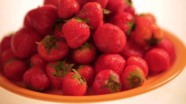 Frische Erdbeere Hintergrund.