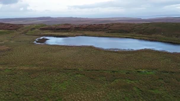 Loch Cuithir and Sgurr a Mhadaidh Ruadh - Hill of the Red Fox, Isle of Skye, Scotland