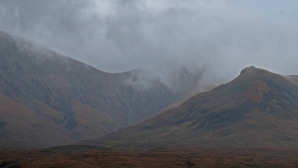 Dramatic clouds over Glamaig on the Isle of Skye.